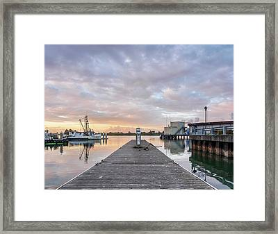 Framed Print featuring the photograph Toward The Dusk by Greg Nyquist