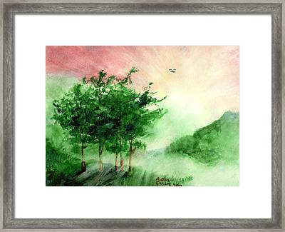 Toward The Promised Land Framed Print