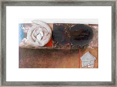 Towards Freedom Framed Print by Rooma Mehra