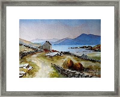 Towards Meelrea From Inisboffin Framed Print