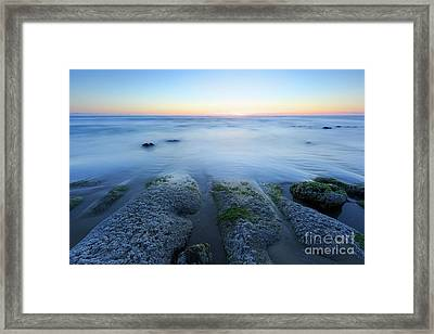 Towards The Horizon  Framed Print by Masako Metz