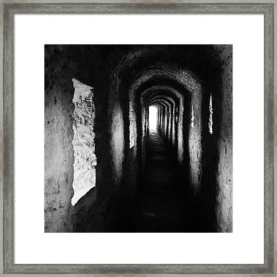 Towards The Light. Kamyanets-podilskyi, 2010. Framed Print
