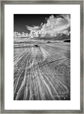 Towards The Ocean Framed Print by Masako Metz
