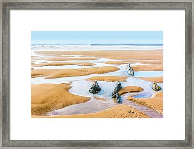 Towards The Sea Framed Print by Svetlana Sewell