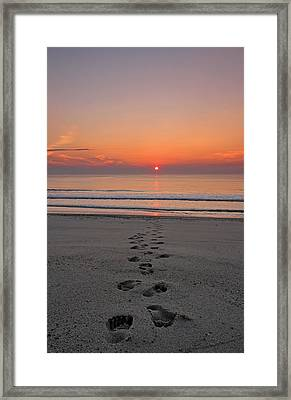 Towards The Sun Framed Print by Juergen Roth