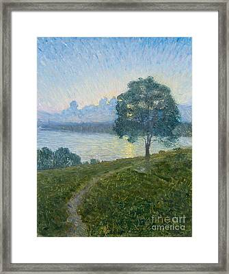 Towards The Sunset Framed Print by Celestial Images