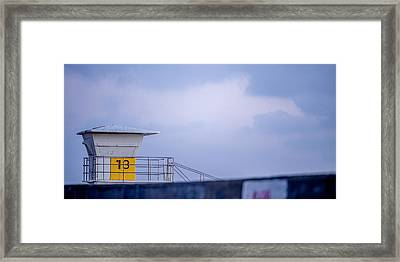 Tower 13 Framed Print by Peter Tellone