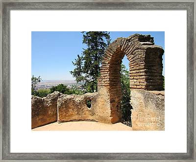 Tower Arch Framed Print by Julie Pacheco-Toye
