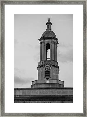 Tower At Old Main Penn State Framed Print by John McGraw