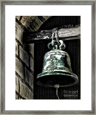 Tower Bell Framed Print