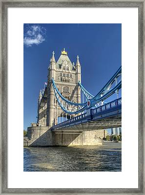 Tower Bridge 2 Framed Print by Chris Day