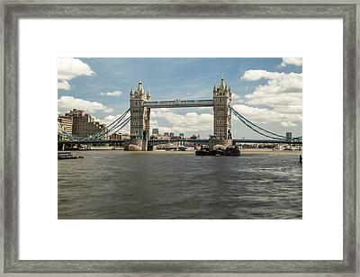 Tower Bridge A Framed Print
