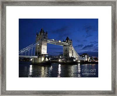 Tower Bridge Framed Print by Amanda Barcon