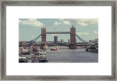 Tower Bridge B Framed Print