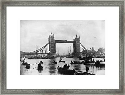 Tower Bridge Framed Print by Francis Frith & Co