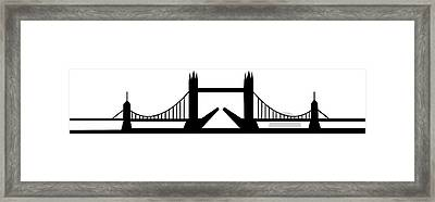 Tower Bridge London Framed Print by Asbjorn Lonvig