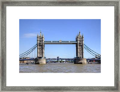 Tower Bridge London Framed Print by Joana Kruse