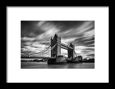 Tower Bridge Framed Prints