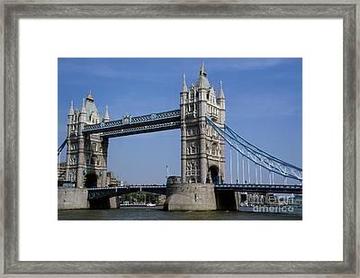 Tower Bridge Framed Print by Robert  Torkomian