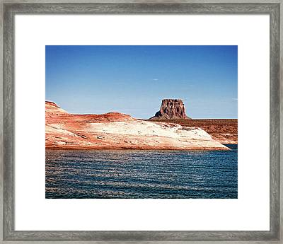 Tower Butte Framed Print