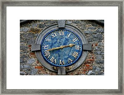 Tower Clock Framed Print