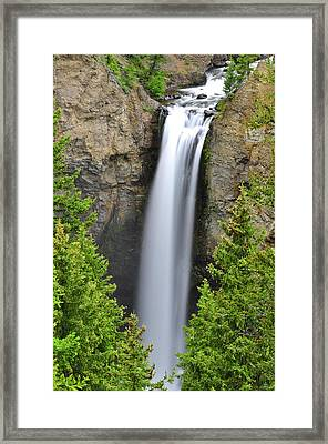 Tower Fall Framed Print by Greg Norrell