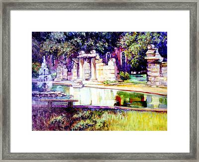 Tower Grove Park Framed Print by Stan Esson