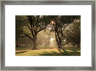 Tower Grove Turkish Pavilion Framed Print by Scott Rackers