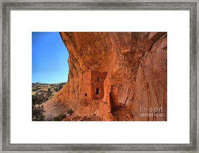 Tower House Ruin Framed Print by Adam Jewell