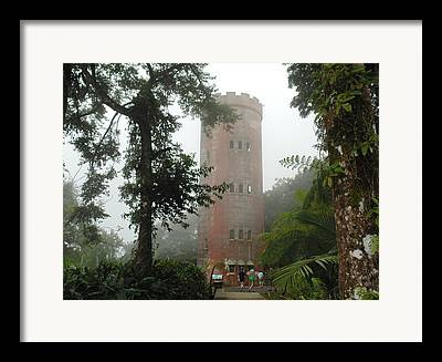 Yokahu Tower Framed Prints