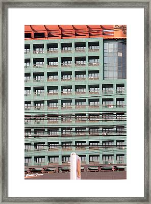 Tower Framed Print by Jez C Self