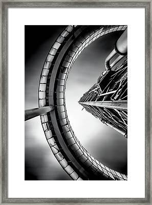 Tower Framed Print by Jorge Maia