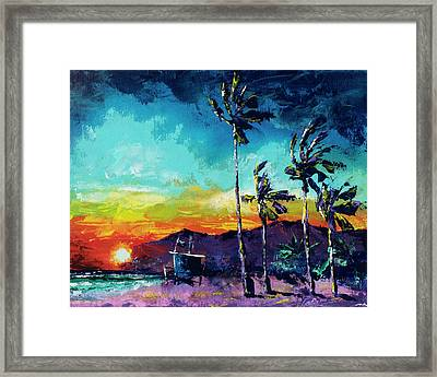 Tower Life 1 Framed Print by Nelson Ruger