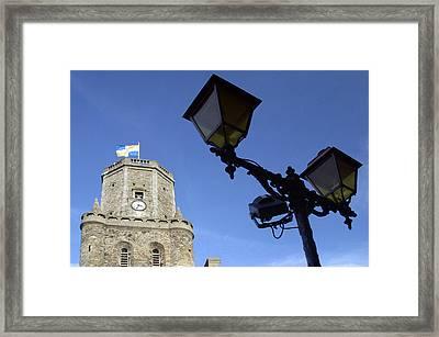 Tower Lights 2 Framed Print by Jez C Self