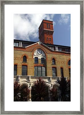 Tower Living Framed Print by Jez C Self