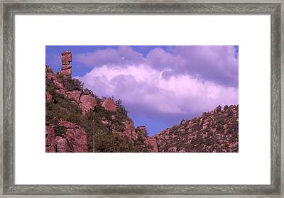 Tower Mountain Framed Print