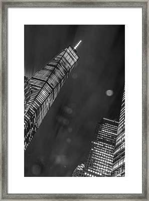 Framed Print featuring the photograph Tower Nights by Theodore Jones