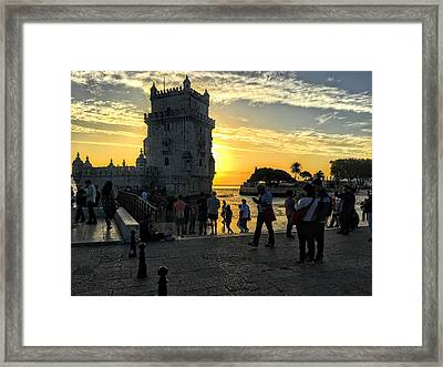 Tower Of Belem Framed Print