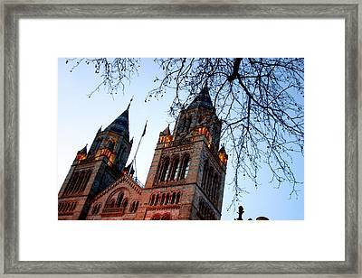 Tower Of History Framed Print by Jez C Self