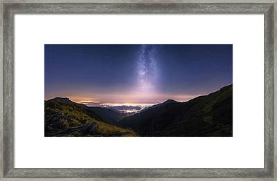 Tower Of Infinity Framed Print