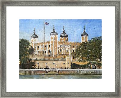 Tower Of London Framed Print by Carol Williams
