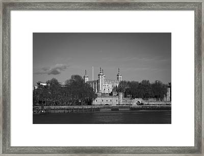 Tower Of London Riverside Framed Print