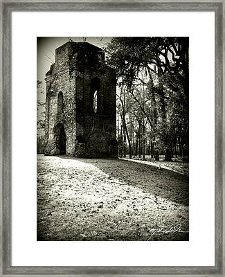 Tower Of St Georges Parish Church Framed Print