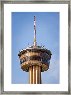 Tower Of The Americas San Antonio Texas - Color Framed Print