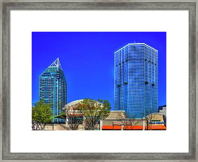 Tower Place 100 Buckhead Atlanta Art Framed Print