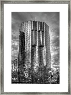 Tower Place 2 Buckhead Office Tower Art Framed Print