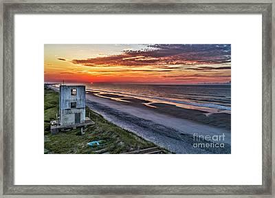 Tower Sunrise Framed Print