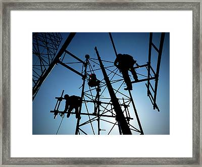 Tower Tech Framed Print