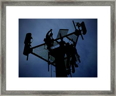 Tower Top Framed Print