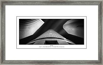 Tower Wars Poster Print Framed Print by Az Jackson